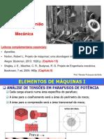 Elementos de Uniao - Parafusos Dimensionamento