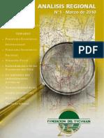 Analisis Regional N1-Fundación del Tucumán
