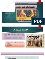 La Musica en La Edad Media. 1ero c