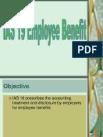IAS 19- Employee Benefit