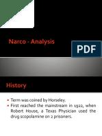 Narco - Analysis
