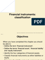 Financial Instrument Classification