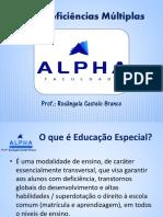 AEE e Deficiencias Multiplas