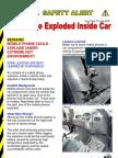 SLGC Safety Aert - Mobile Phone Exploded inside Car  Jun08