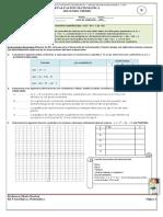 Evaluacion Funciones Cuadraticas Segundo Medio Fila B