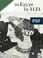 Helen in Egypt - Hilda Doolittle