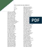 Program de Poezii Patriotice