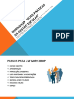 Workshop Progestão