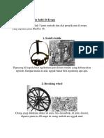 5 Metode Penyiksaan Sadis Di Eropa