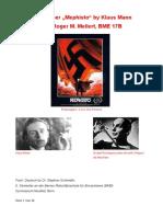 Arbeit Mephisto PDF