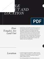 Temple Layout and Location