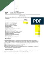 Estado de Costos de Producción (Caso 3) - JORGE ARRIBASPLATA