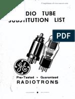 1943 GE Tube Sub Guide