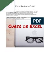 CURSO BÁSICO EXCEL