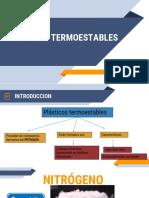 DIAPOSITIVAS-PLASTICOS TERMOESTABLES
