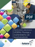 montaje y mantenimiento transformadores