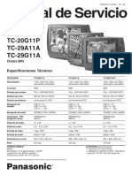 Tv Panasonic Tc-20g11a, Tc-20g11p, Tc-29a11a, Tc-29g11a Service Manual