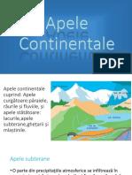 Apele Continentale
