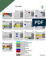 Calendario ENPEG 2018