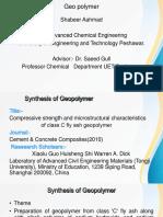 Geo Polymer