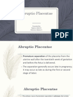 Abruptio Placentae [Autosaved]