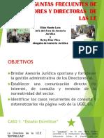 Preguntas Frecuentes Asesoria Juridica