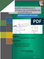 Diseño de Aliviadero de Alcantarilla