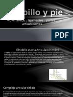 EL TOBILLO Y EL PIE