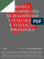 avaliação psicológica dinâmica