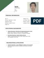 Law Resume