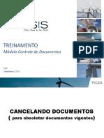 Treinamento Controle de Documentos 2015 Revisão 02