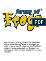 Army of Frogs Rules