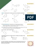 8-1 Pythagorean Theorem'
