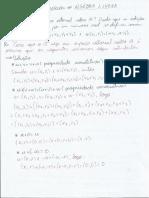 Exercícios de Algebra Linear Resolvidos