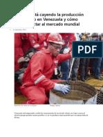 El Petroleo en Venezuela