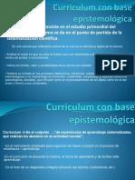 Curriculum Con Base Epistemológica