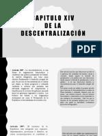 Capitulo Xiv descentralizacion