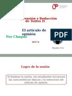 11A-ZZ04 El artículo de opinión (diapositivas) 2017-2.ppt