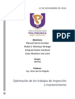 Optimización de Mantenimiento_Gestión Del Mantenimiento