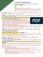 Processo Do Trabalho - AV1 2014-2