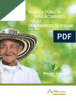 Politica Envejecimiento y Vejez - Bolivar 4