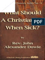 Dowie What Should a Christian Do When Sick [15]