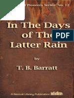 Barratt in the Days of the Latter Rain [12]