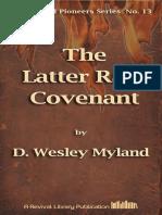 Myland the Latter Rain Covenant [13]