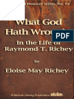 Richey What God Hath Wrought in the Life of Raymond t. Richey [19]