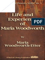 Woodworth-etter Life and Experience of Maria Woodworth [1]
