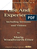 Woodworth-etter Life and Experience Including Sermons and Visions [8]