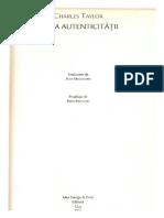 Charles Taylor_Etica Autenticitatii_Originile Autenticitatii.pdf