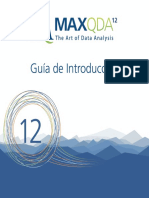 Getting Started Guide MAXQDA12 Esp