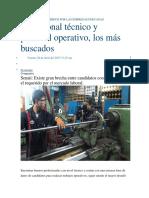 Son Los Más Requeridos Por Las Empresas Peruanas